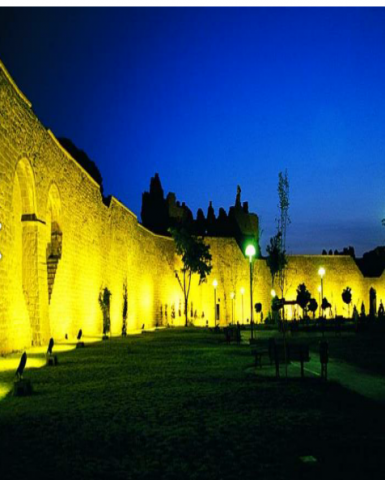 Diyarbakir City Historical Walls/Turkey